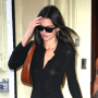 Kim Kardashian, sister Kendall Jenner, Jonathan Cheban and Lala Anthony out and about in New York City
