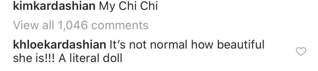 Kim Kardashian's Instagram Comments