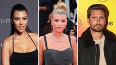 Kourtney Kardashian Sofia Richie Best Ex Boyfriend Scott Disick