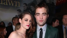 Kristen Stewart and Robert Pattinson at the The World Premiere of Summit Entertainment, a Lionsgate Company, 'The Twilight Saga: Breaking Dawn - Part 2'