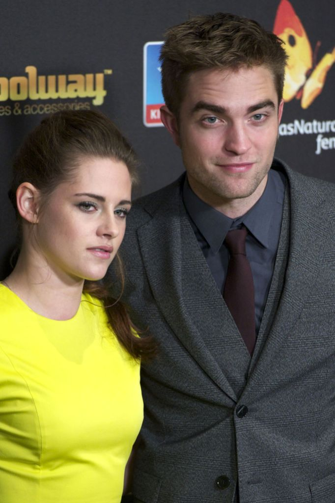 Kristen Stewart and Robert Pattinson at the 'Twilight Saga: Breaking Dawn Part 2' film premiere