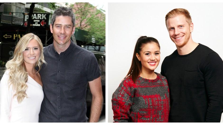 Bachelor Couples Lauren Burnham Arie Luyendyk Catherine Giudici Sean Lowe Talk About Kids