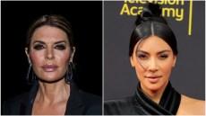 Lisa Rinna and Kim Kardashian