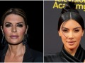 Lisa Rinna and Kim Kardashian