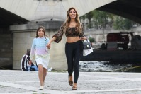 Farrah Abraham and Sophia Laurent Hold Hands by River Siene in Paris