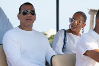 Jennifer Lopez and Alex Rodriguez Vacation in France