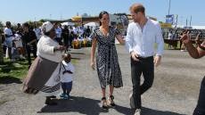 Meghan Markle and Prince Harry Africa Trip Day 1 in Cape Town, South Africa