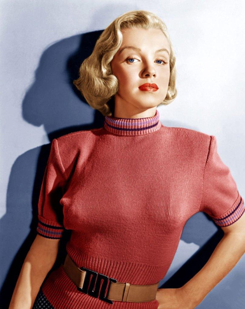 Marilyn Monroe Turtleneck sweater