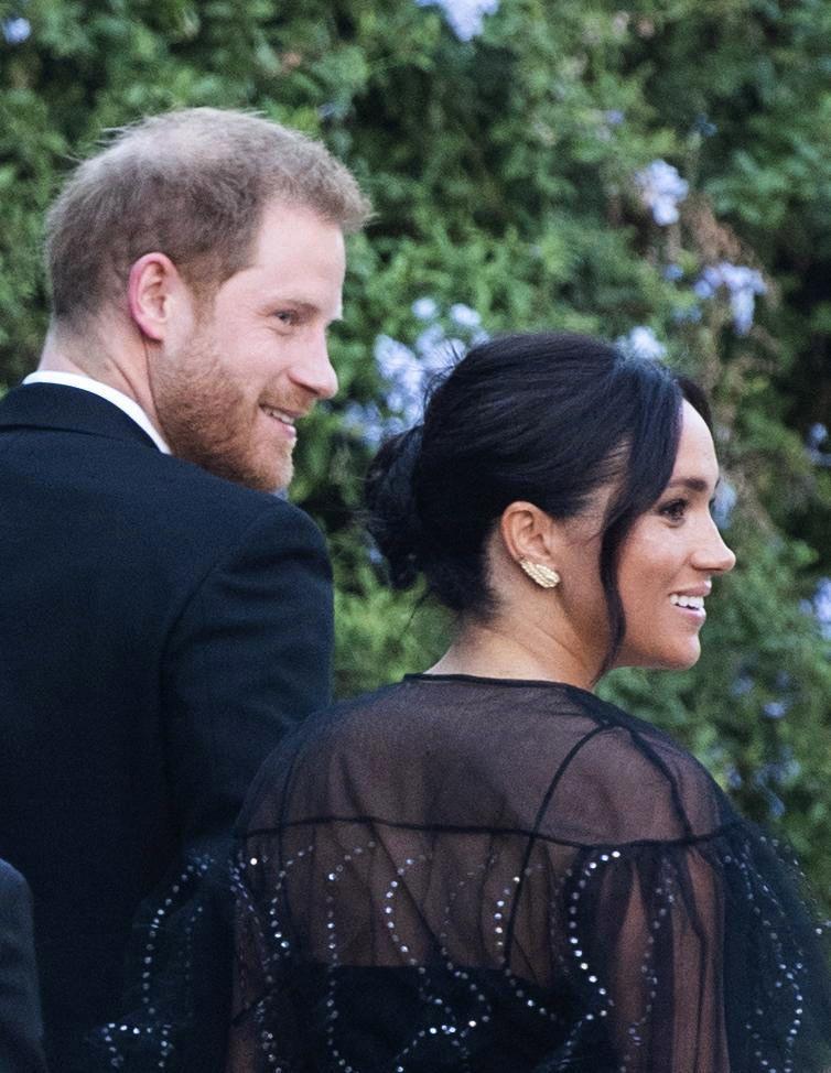 Prince Harry , Megan Markle, Ivanka Trumo and Jared Kushner arrive at Misha Nonoo and Michael herr wedding in Rome