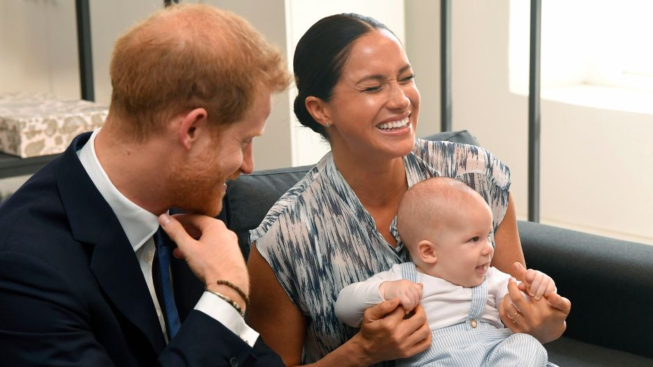 Meghan Markle, Prince Harry and Baby Archie in South Africa