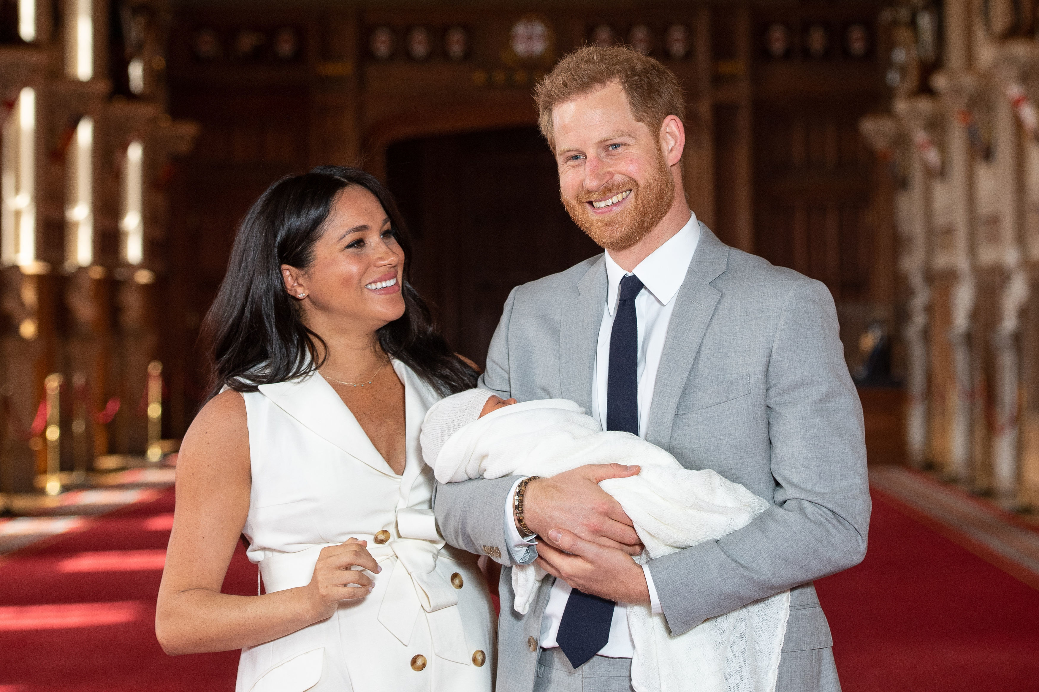 Mommy Duties! Duchess Meghan Had to Rush Out of a Royal Engagement to 'Feed' Baby Archie