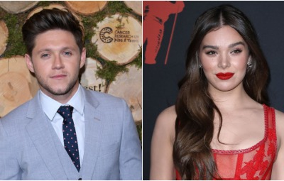 Niall Horan and Hailee Steinfeld Side by Side
