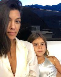 Penelope Disick, Kourtney Kardashian