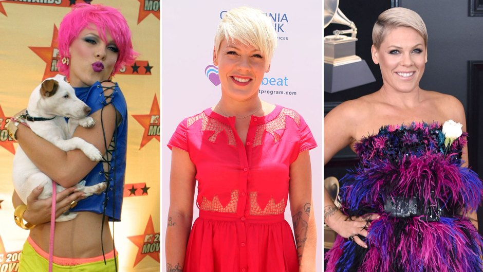 Pinks Transformation through the years