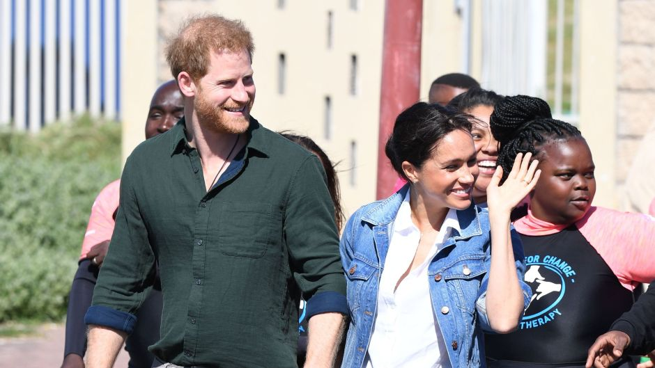 Prince Harry Meghan Markle on South Afric Trip With Archie
