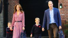 Princess Charlotte First Day of School Jitters Looking Adorable