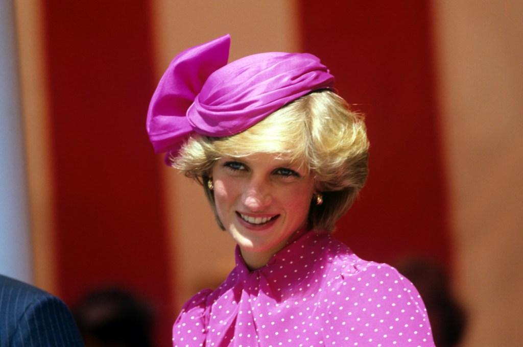 Princess Diana at a Royal Garden Party
