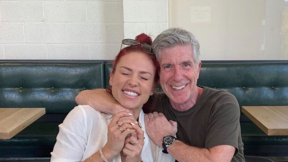 Sharna Burgess and Tom Bergeron at a Lunch Date