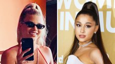 Sofia Richie Hairstyle Gives Ariana Grande Vibes