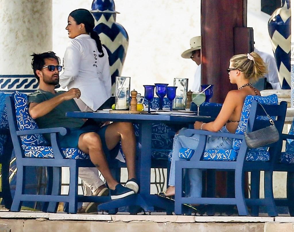 Sofia Richie Scott Disick Labor Day lunch Cabo San Lucas