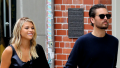Scott Disick and Sofia Richie walking in NYC and holding hands