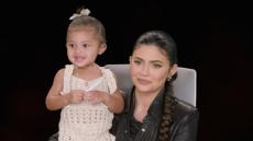 Stormi Webster and Kylie Jenner on 'The Ellen DeGeneres Show'