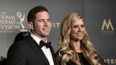 Tarek El Moussa and Christina Anstead at the 44th Annual Daytime Emmy Awards