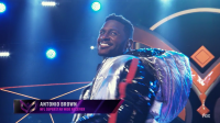 The Hippo on The Masked Singer is Antonio Brown