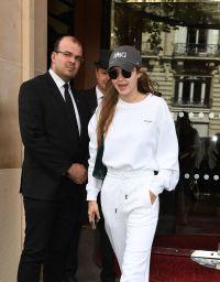 Gigi Hadid in All White
