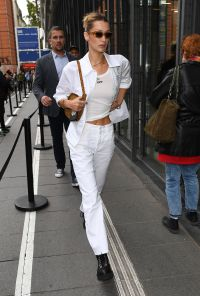 Bella Hadid in All White
