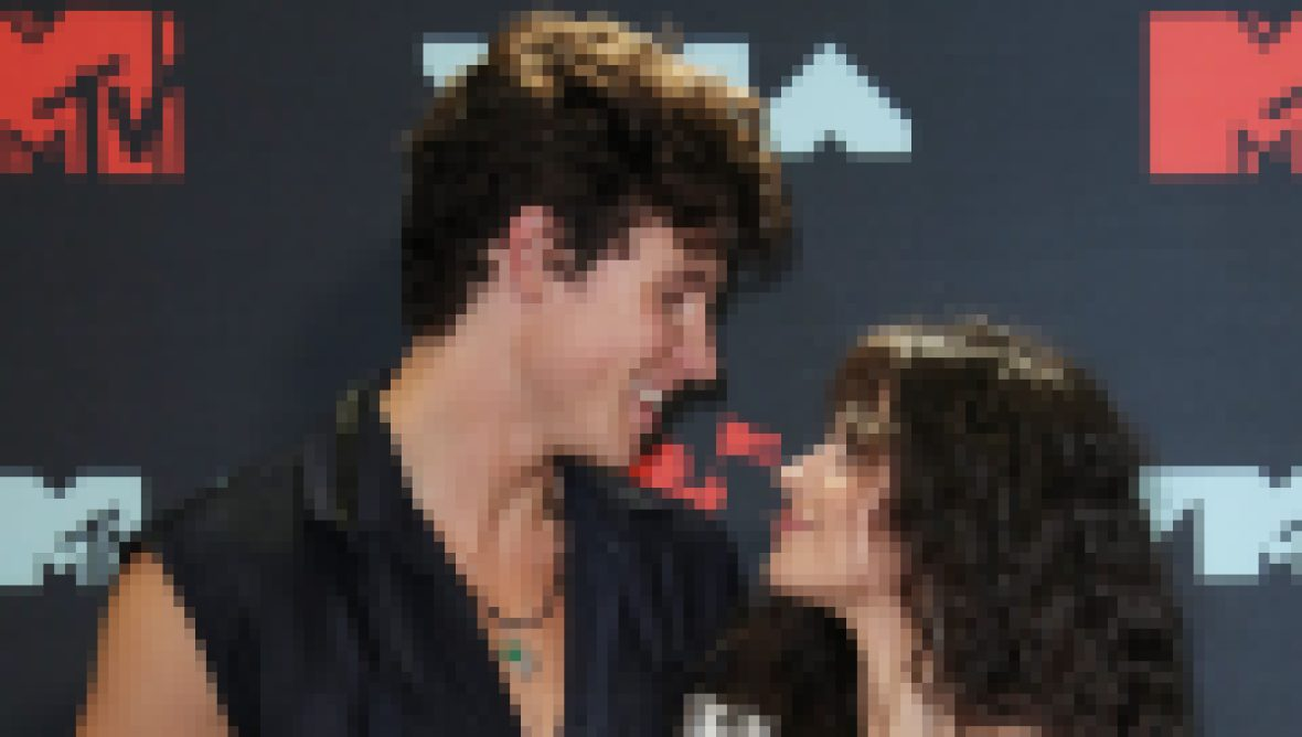 Shawn Mendes and Camila Cabello Looking at Each Other