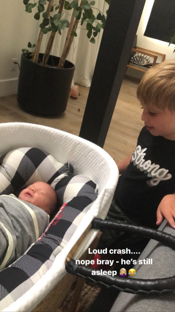 Christina Anstead Shares Video Of Son Hudson With Brother