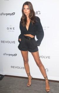 Emily Ratajkowski in Shorts