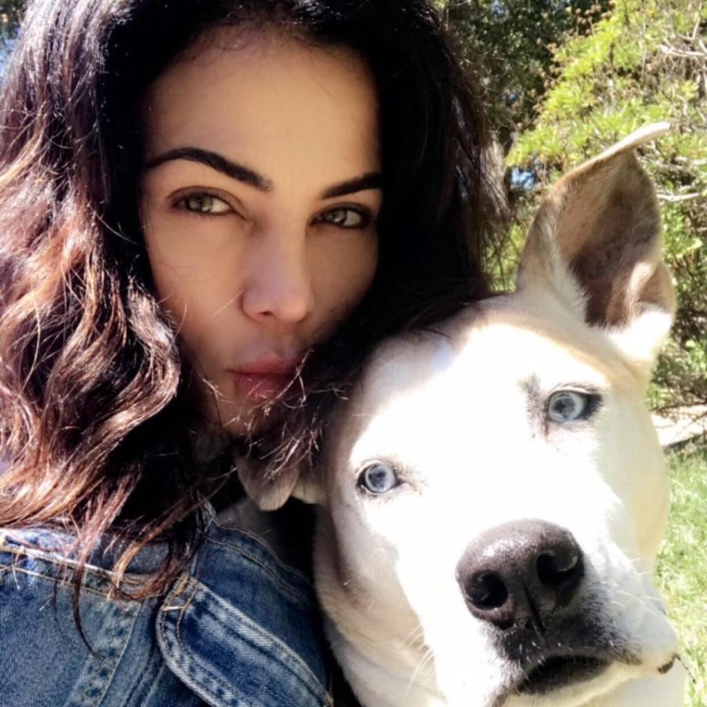 Jenna Dewan and her Dead Dog LuLu