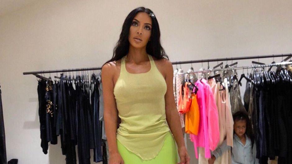 North West Judges Kim kardashian's Outfit