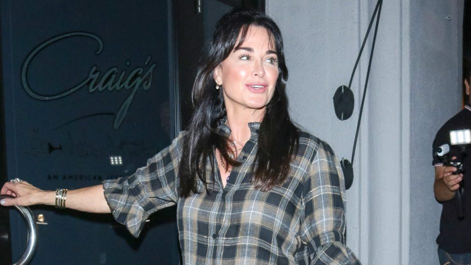 Kyle Richards With New Bangs