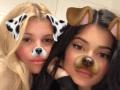 kylie-jenner-sofia-richie-girls-night-in