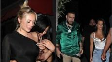 Anastasia Karanikolaou and Kylie Jenner, Kourtney Kardashian and French Montana