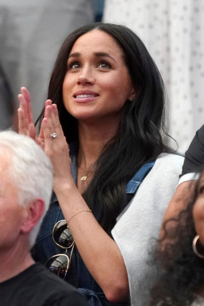 Meghan Markle Clapping