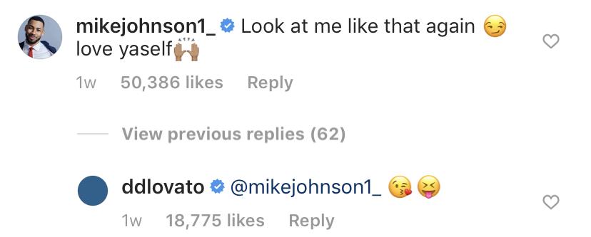 mike-johnson-demi-lovato-comments