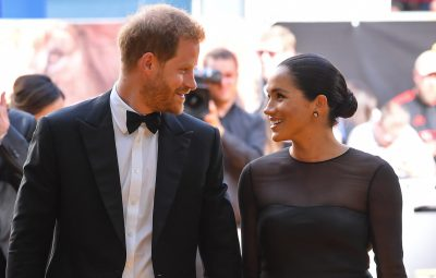 Prince Harry and Meghan Markle Looking At Each Other