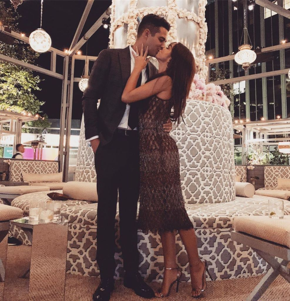 Sarah Hyland and Fiance Wells Adams First Date to Engagement