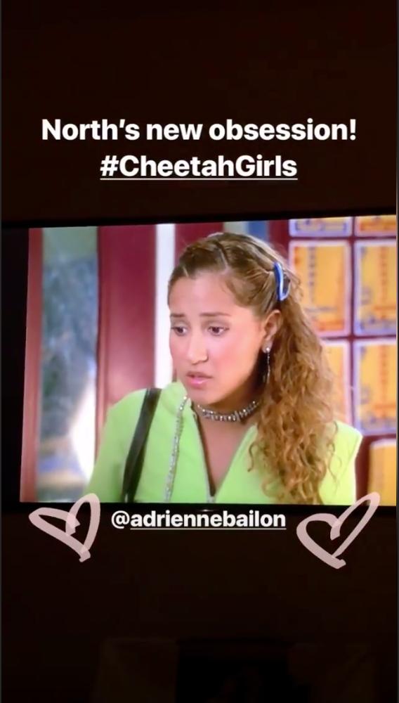 A screengrab of the movie Cheetah Girls