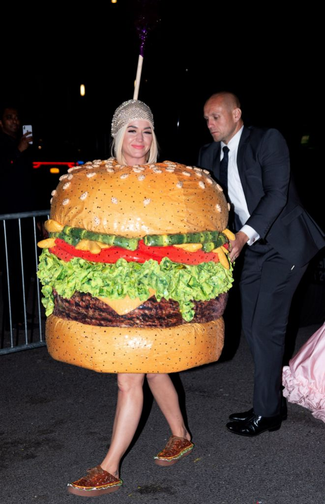 Katy Perry Burger Costume by Moschino