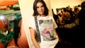 Kendall Jenner oversized Tshirt Renell Medrano exhibition