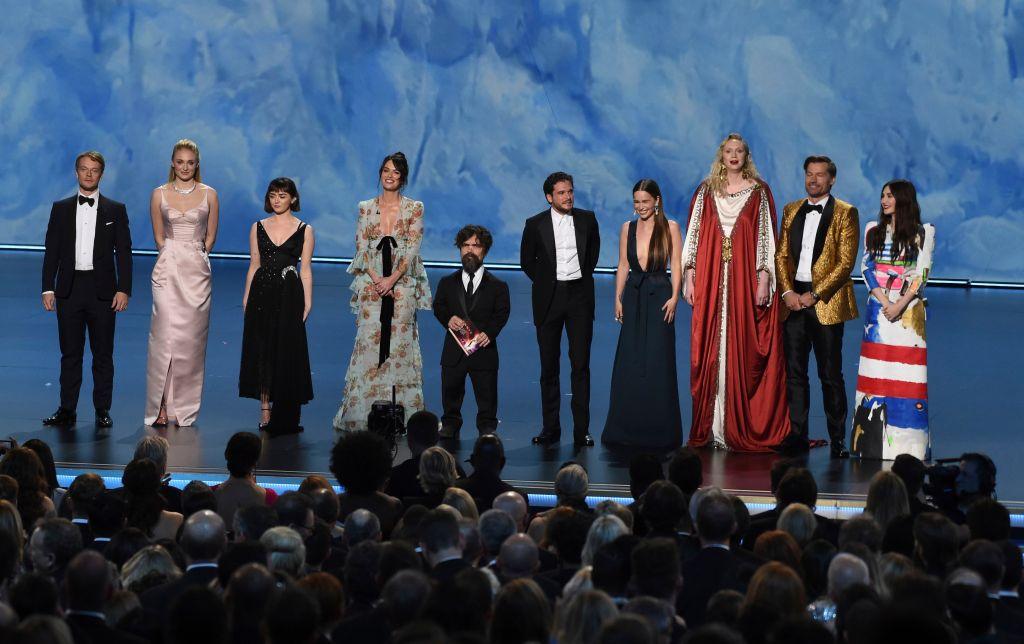 Game of Thrones Cast Presenting2019 Primetime Emmy Awards - Show, Los Angeles, USA - 22 Sep 2019
