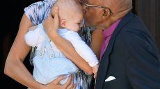 Baby Archie Meets Archbishop Desmond Tutu During Africa Tour