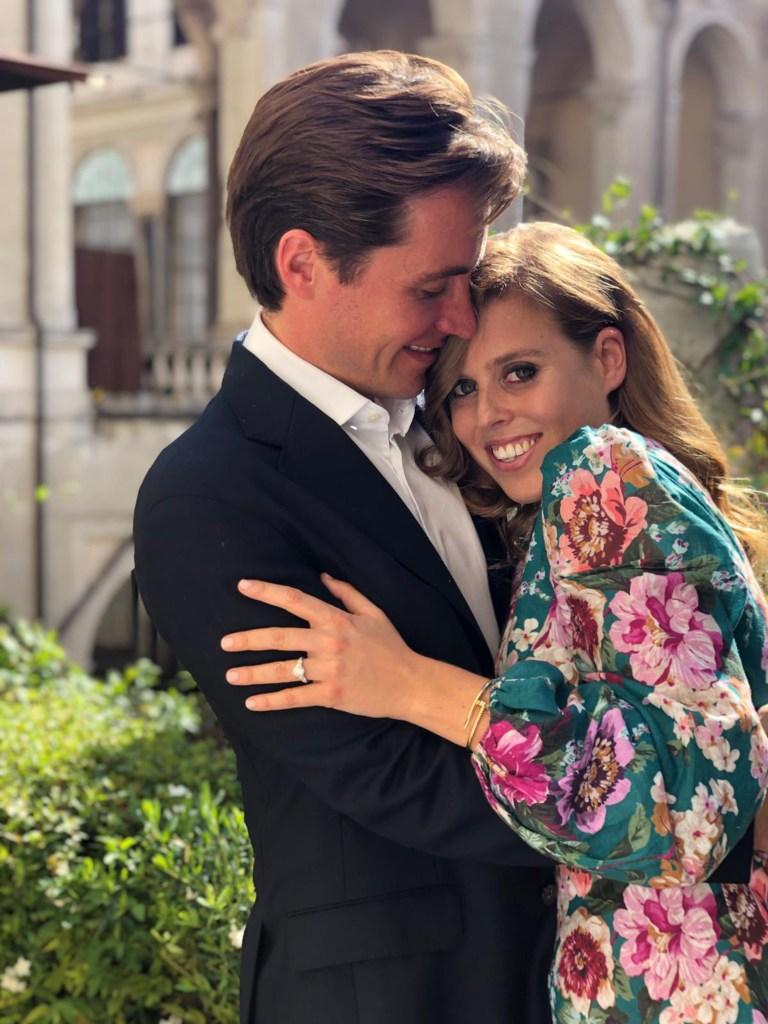 Princess Beatrice announces her engagement to Edoardo Mapelli Mozzi, UK - 26 Sep 2019