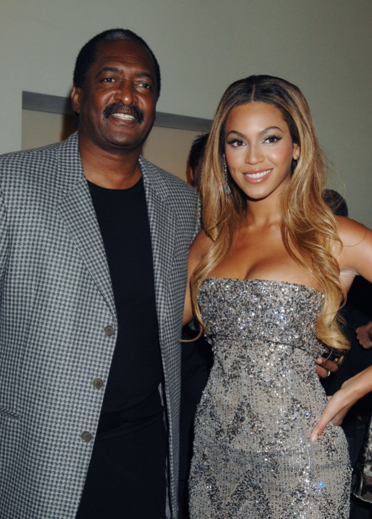 Beyonce and Mathew Knowles DreamGirls Premiere