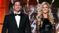 Tarek El Moussa and Christina Anstead Smiling Together Coparenting Advice